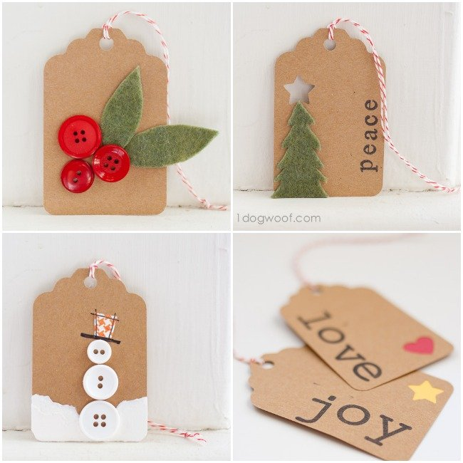Gift Tags Days 4 through 7