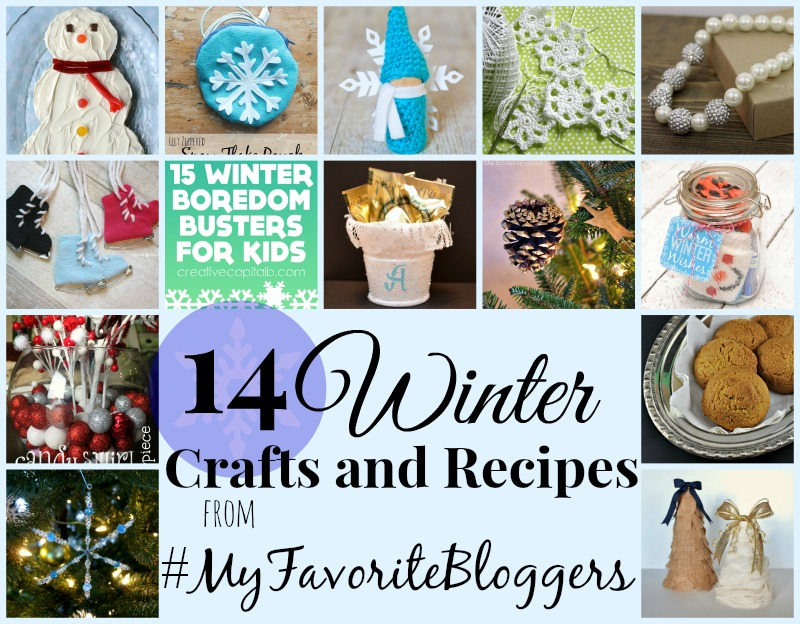 14 Winter Crafts and Recipes. www.1dogwoof.com