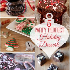 5 Party Perfect Holiday Desserts. www.1dogwoof.com