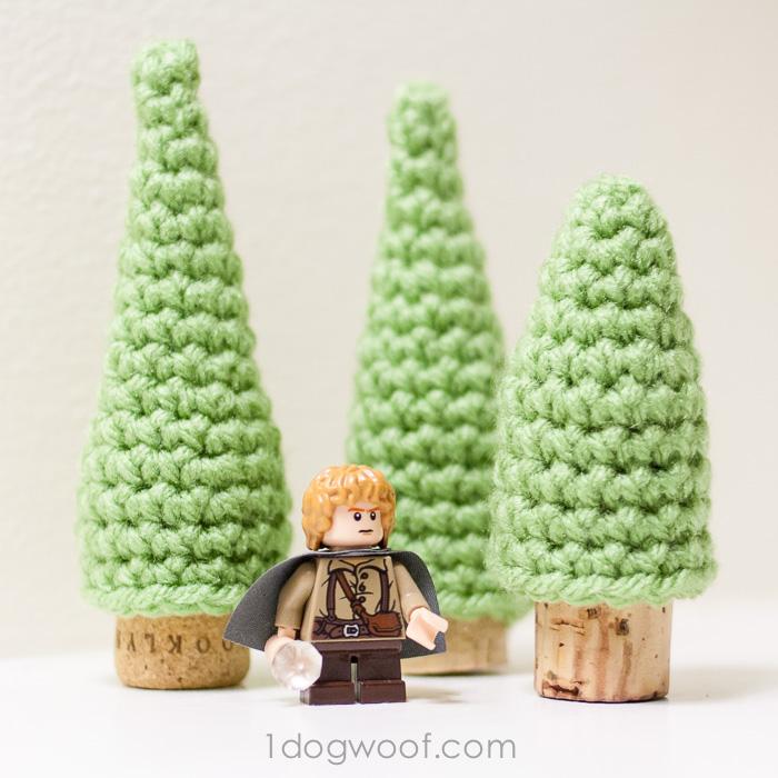 Cork Pine Tree Crochet Patterns