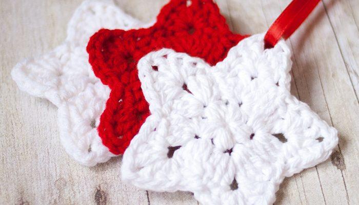 Crochet Star Ornament Pattern