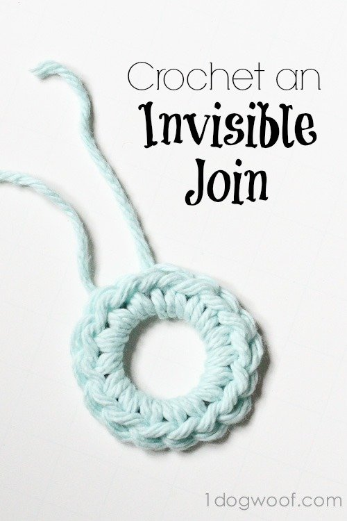 How To Crochet Invisible Joins One Dog Woof