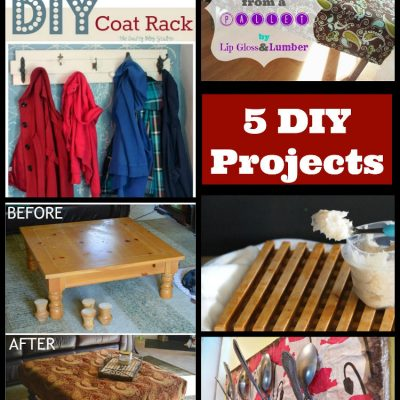 The Project Stash Link Party: 5 DIY Projects