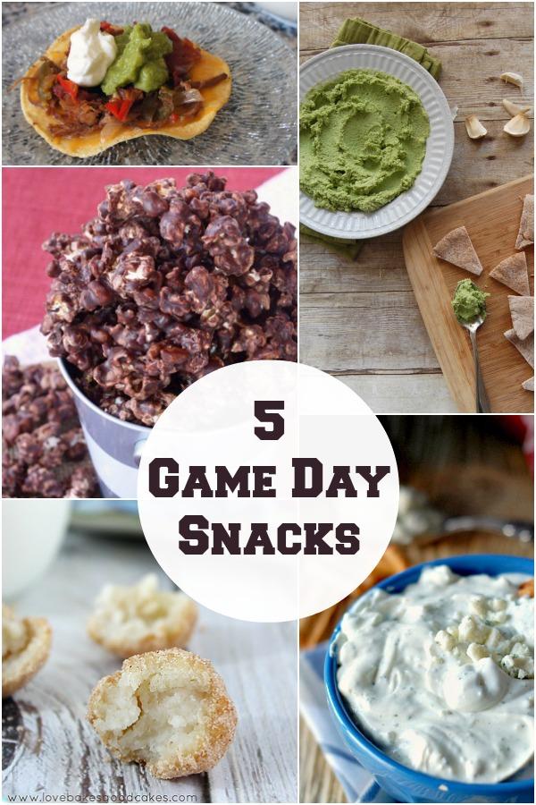 5 game day snacks