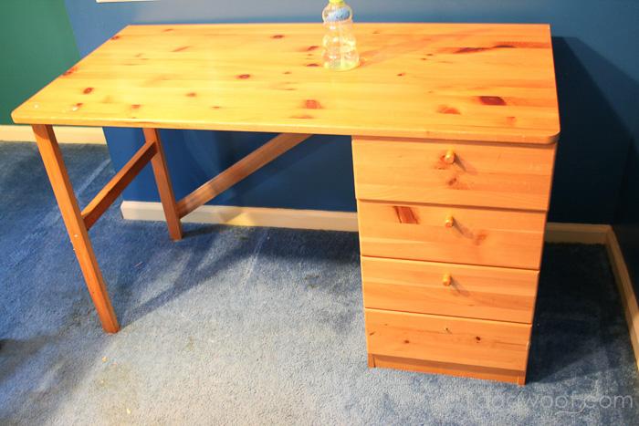 Ikea_hack_craft_desk_before