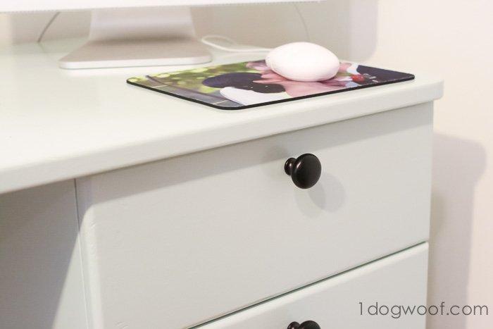 New knobs on old desk