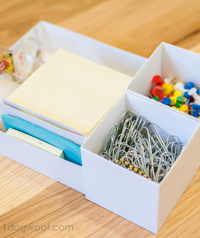 Make Custom Box Templates with a Silhouette for Drawer Organization ...