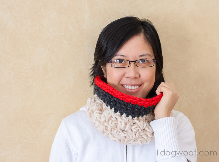 Anthropologie inspired chunky cowl