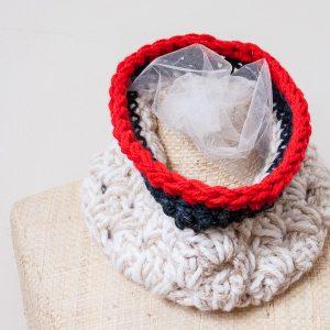 free pattern for an Anthropologie inspired crochet chunky cowl   www.1dogwoof.com   #crochet #scarf