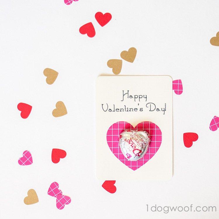 dove chocolate valentines | www.1dogwoof.com