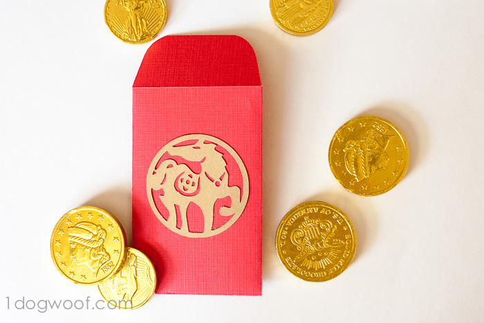Diy Red Envelopes For Chinese New Year One Dog Woof