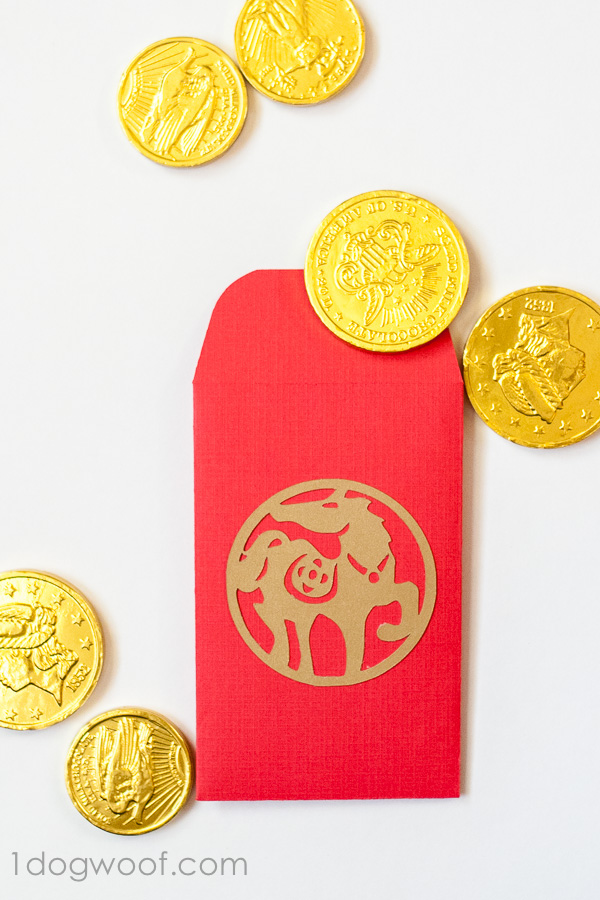 diy red envelopes with chocolate coins for an easy kid friendly celebration of chinese new - Red Envelopes Chinese New Year