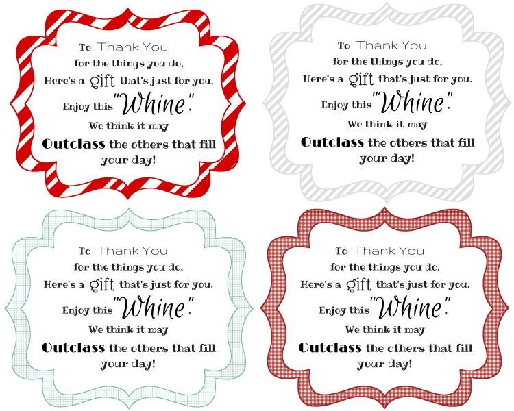 Wine whine poem collage