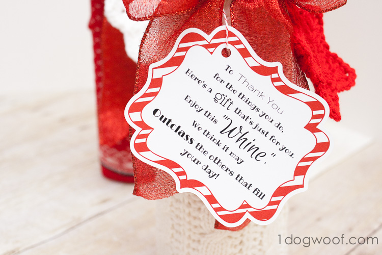 "Printable ""whine"" poem teacher gift 