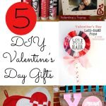 5 DIY Valentine's Day Gifts