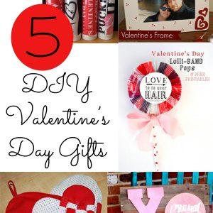5 DIY Valentine's Day Gifts