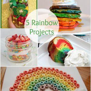 5 Rainbow Projects   www.1dogwoof.com