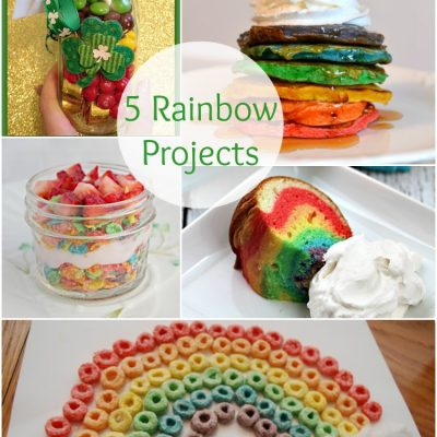 5 Colorful Rainbow Projects at The Project Stash
