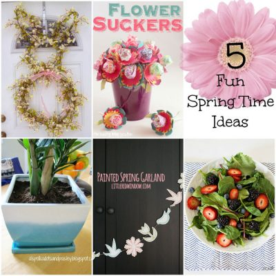 5 Fun Springtime Ideas at The Project Stash