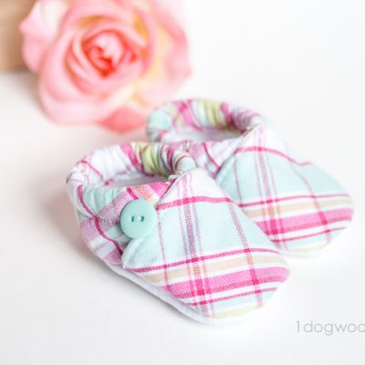 Baby Cloth Shoes Pattern with Silhouette Cut File