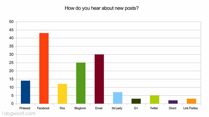 2013 Blog survey results | www.1dogwoof.com