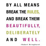 Robert Bringhurst Quote on Friday Finds