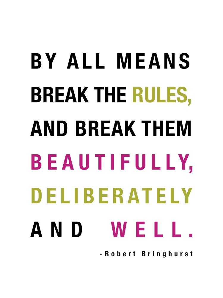 Robert Bringhurst quote | www.1dogwoof.com