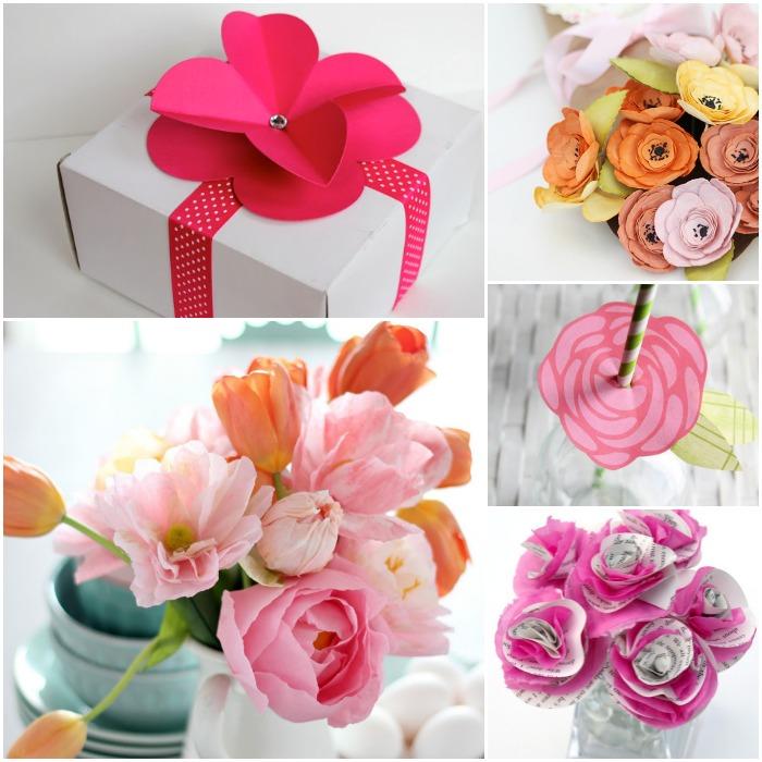 Paper Flowers | www.1dogwoof.com