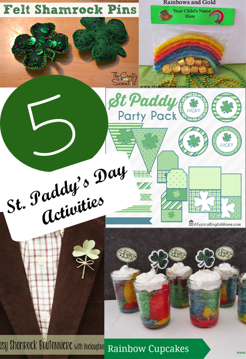 The Project Stash: 5 St. Patty's Day Activities
