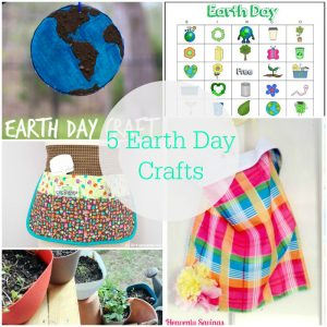5 Earth Day Crafts | www.1dogwoof.com
