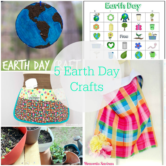 5 Earth Day Crafts | www.1dogwoof.com