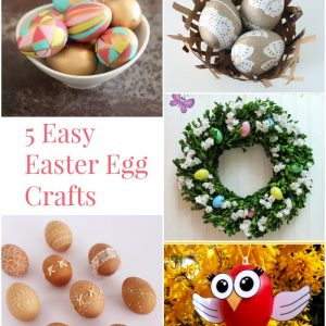 5 Easy Easter Egg Crafts