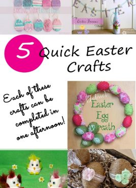 5 Quick Easter Crafts at The Project Stash