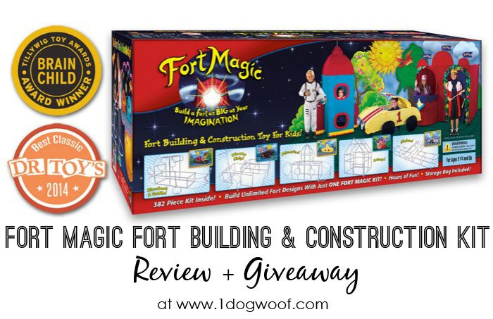 Fort Magic Giveaway | www.1dogwoof.com