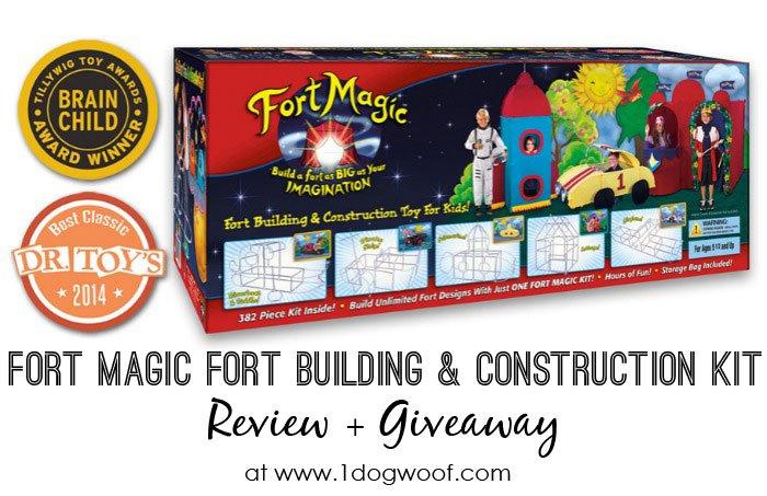 Fort Magic Giveaway | www.1dogwoof.com