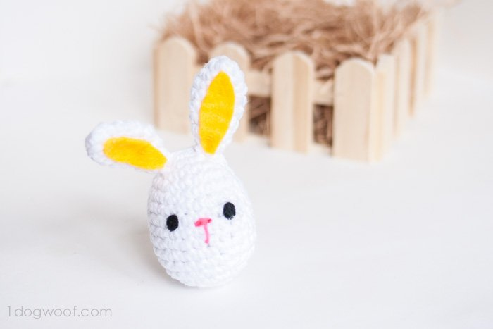 Crochet Easter Bunny Pattern - One Dog Woof