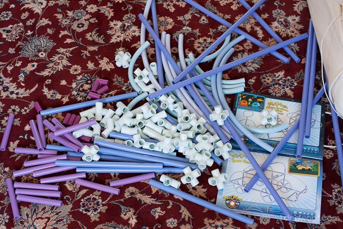 Fort Magic contents   www.1dogwoof.com