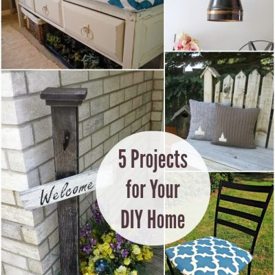 5 DIY Projects for Your Home at The Project Stash