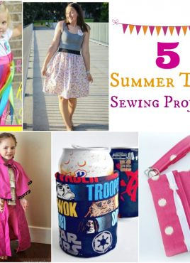5 Summertime Sewing Projects at The Project Stash