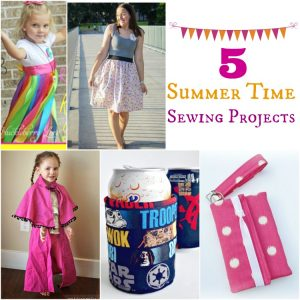5 Summertime Sewing Projects   www.1dogwoof.com