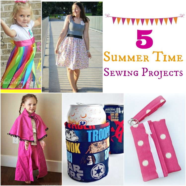 5 Summertime Sewing Projects | www.1dogwoof.com