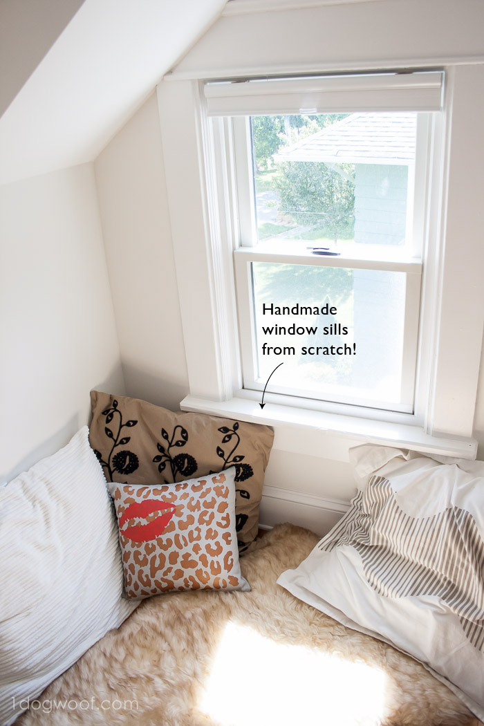 handmade window sills | www.1dogwoof.com
