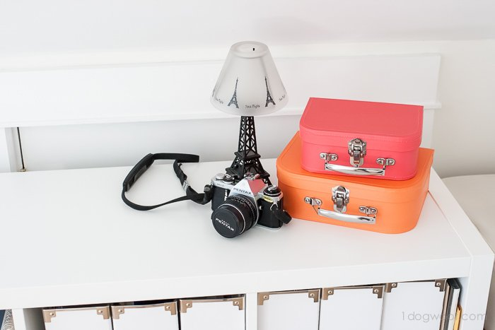 Decorative suitcases from Land of Nod | www.1dogwoof.com