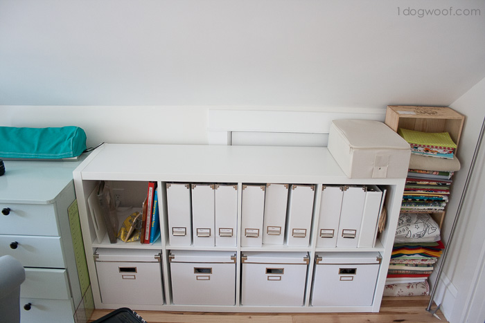 Ikea Kallax shelf | www.1dogwoof.com