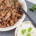 Eggplant Pork Stir-fry