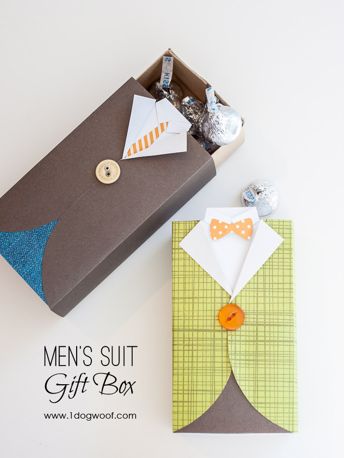 Mens Suit Gift Box With Tutorial