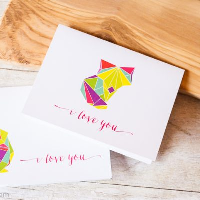 Origami Love Cards and Looking for Feedback