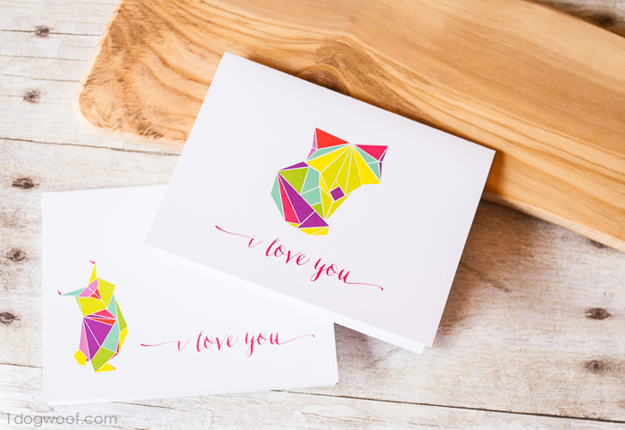 Origami love cards and looking for feedback one dog woof origamilovecard 4 m4hsunfo