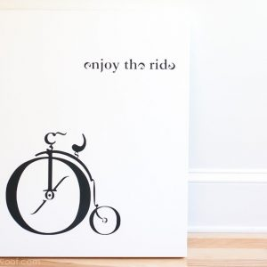 Vintage Typebike Canvas Art | www.1dogwoof.com