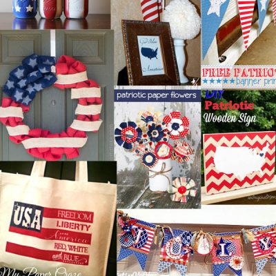 4th of July Home Decor Ideas at The Project Stash